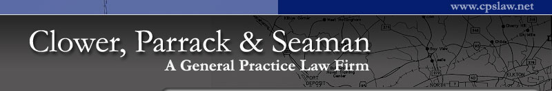 Clower, Parrack & Seaman - A General Practice Law Firm in Cecil County, Maryland